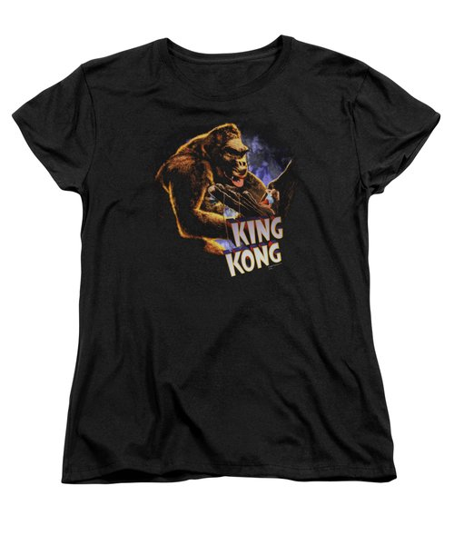 King Kong - Kong And Ann Women's T-Shirt (Standard Cut) by Brand A