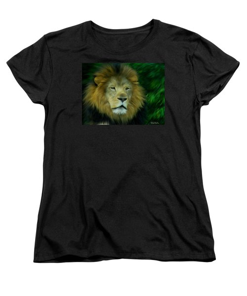 King Women's T-Shirt (Standard Cut) by Maria Urso