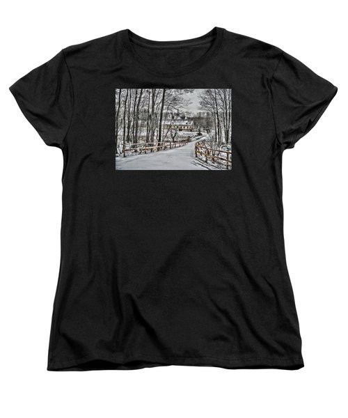 Women's T-Shirt (Standard Cut) featuring the photograph Kloster St. Anna  by Gabriella Weninger - David