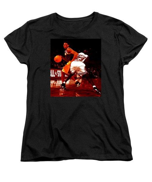 Kobe Spin Move Women's T-Shirt (Standard Cut) by Brian Reaves