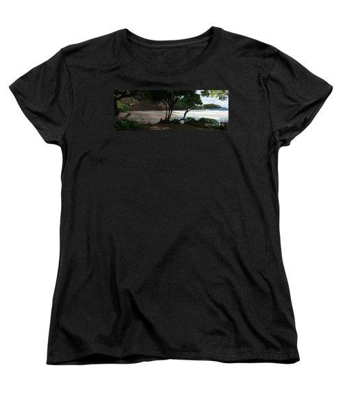 Koki Beach Hana Maui Hawaii Women's T-Shirt (Standard Cut)