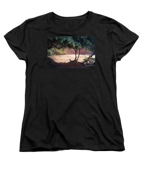 Koki Beach Kaiwiopele Haneo'o Hana Maui Hikina Hawaii Women's T-Shirt (Standard Cut)