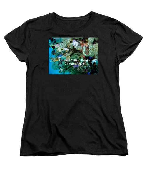 Komodo Island 5 Women's T-Shirt (Standard Cut) by David Beebe
