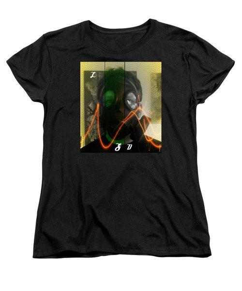 Women's T-Shirt (Standard Cut) featuring the photograph L S D  Part Three by Sir Josef - Social Critic - ART