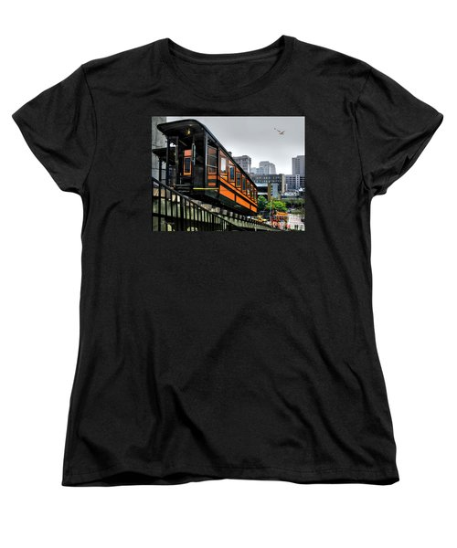 Los Angeles Angels Flight Women's T-Shirt (Standard Cut) by Jennie Breeze