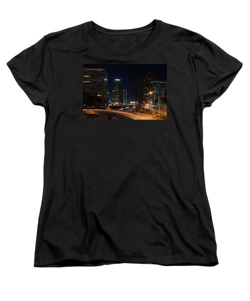 La Down Town 2 Women's T-Shirt (Standard Cut) by Gandz Photography