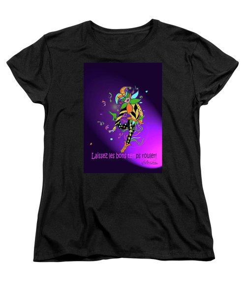 Laissez Les Bon Temps Rouler Women's T-Shirt (Standard Cut) by Lizi Beard-Ward