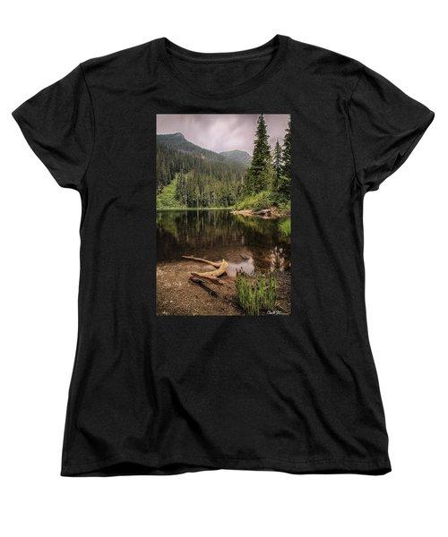 Lake Elizabeth Women's T-Shirt (Standard Cut) by Charlie Duncan