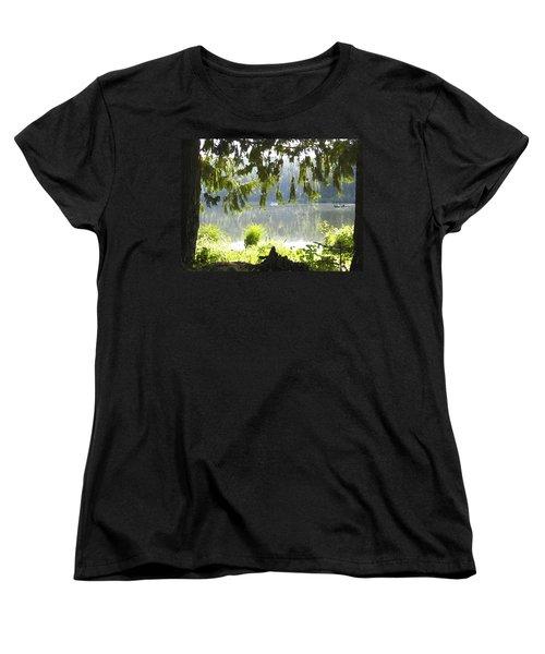 Lake Of Dreams Women's T-Shirt (Standard Cut) by Anne Mott