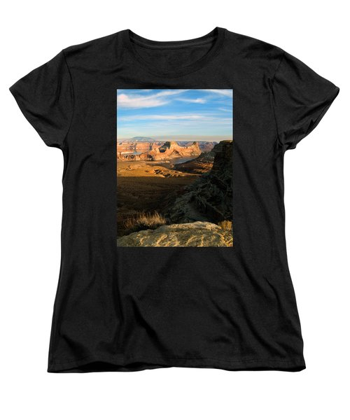 Lake Powell From Alstrum Pt 02 Women's T-Shirt (Standard Cut) by Jeff Brunton