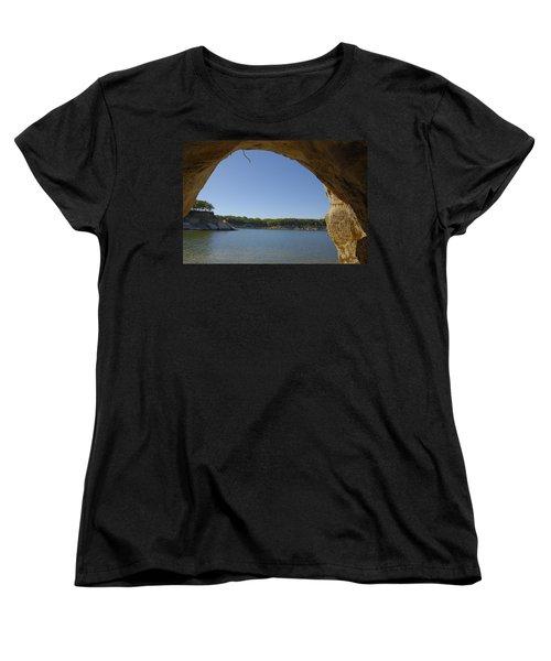 Lake Texoma Eisenhower State Park  Texas Women's T-Shirt (Standard Cut) by Charles Beeler
