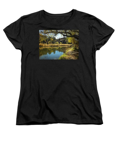 Lake View Women's T-Shirt (Standard Cut) by Lucinda Walter