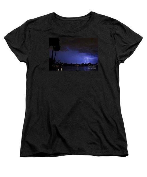 Lake Weatherly  Women's T-Shirt (Standard Cut) by Quinn Sedam
