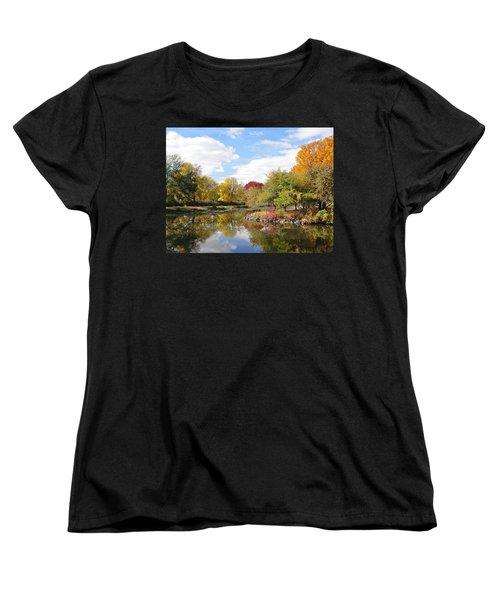 Lakeside Park Women's T-Shirt (Standard Cut) by Tiffany Erdman