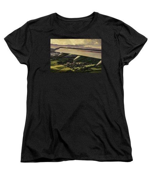 Landing Women's T-Shirt (Standard Cut) by Muhie Kanawati