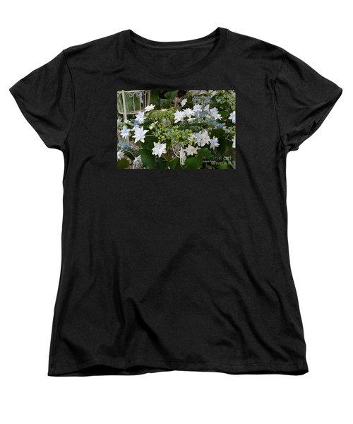 Women's T-Shirt (Standard Cut) featuring the photograph Shooting Star Bouquet by Jeannie Rhode