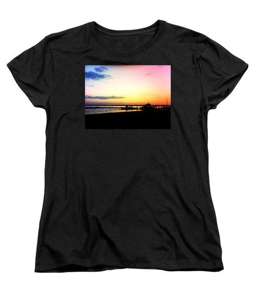Last Light Women's T-Shirt (Standard Cut) by Denyse Duhaime