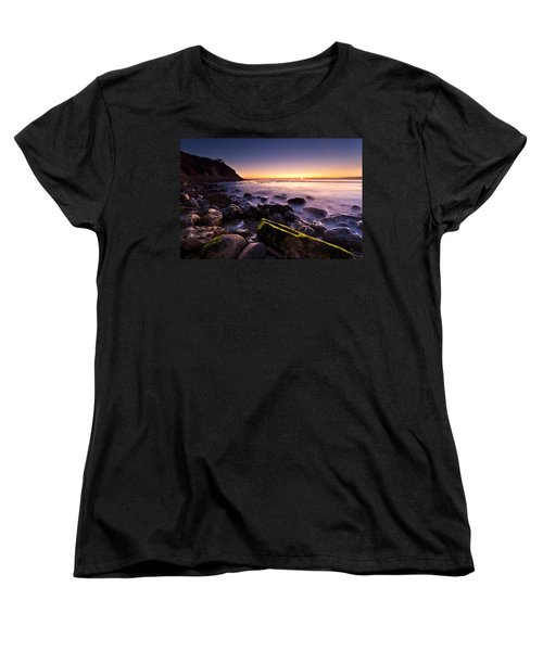 Women's T-Shirt (Standard Cut) featuring the photograph Last Ray by Mihai Andritoiu