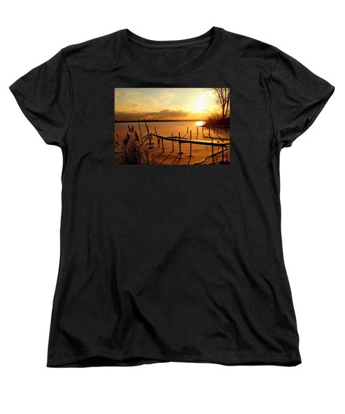 Last Winter ? Women's T-Shirt (Standard Cut) by Daniel Thompson