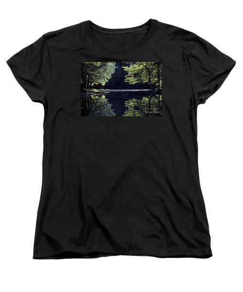 Late Afternoon Reflection Women's T-Shirt (Standard Cut) by Kevin McCarthy