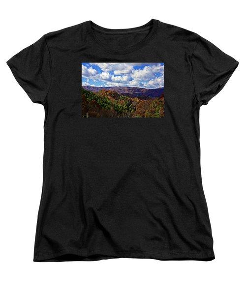 Late Autumn Beauty Women's T-Shirt (Standard Cut) by Tom Culver