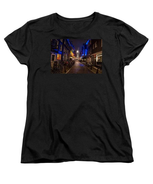 Late Nights Women's T-Shirt (Standard Cut) by Jonah  Anderson