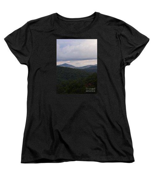 Laurel Fork Overlook 1 Women's T-Shirt (Standard Cut) by Randy Bodkins