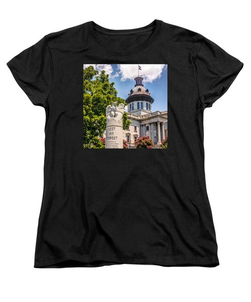 Women's T-Shirt (Standard Cut) featuring the photograph Law Enforcement Memorial by Rob Sellers