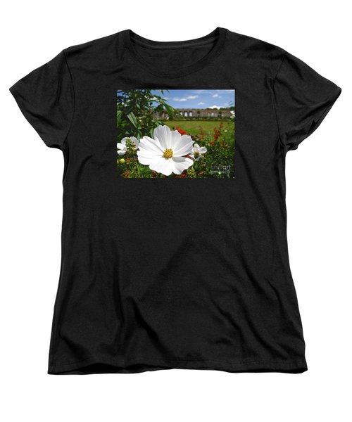 Women's T-Shirt (Standard Cut) featuring the photograph Le Fleur De Versailles by Suzanne Oesterling