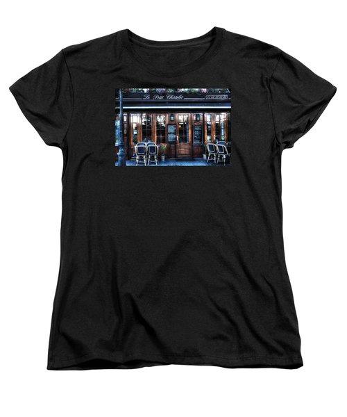 Le Petit Chatelet Paris France Women's T-Shirt (Standard Cut) by Evie Carrier