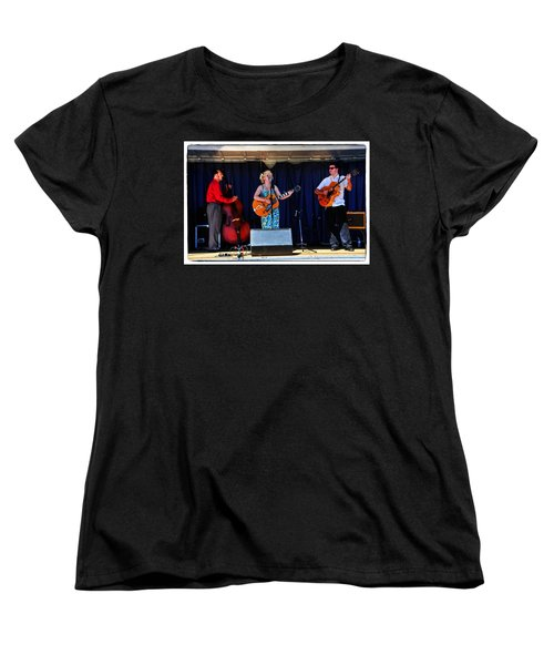 Women's T-Shirt (Standard Cut) featuring the photograph Leah And Her J Walkers by Mike Martin