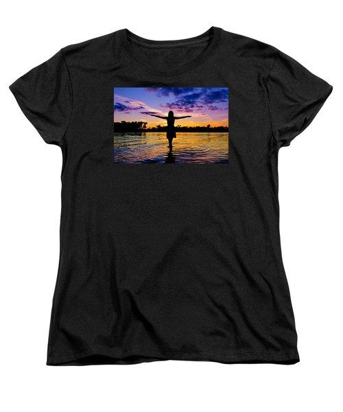 Legend Women's T-Shirt (Standard Cut) by Laura Fasulo