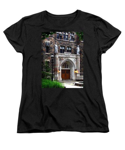 Women's T-Shirt (Standard Cut) featuring the photograph Lehigh University Bethlehem Packard Laboratory by Jacqueline M Lewis