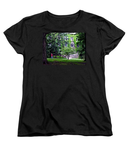 Lehigh University Campus Women's T-Shirt (Standard Cut) by Jacqueline M Lewis