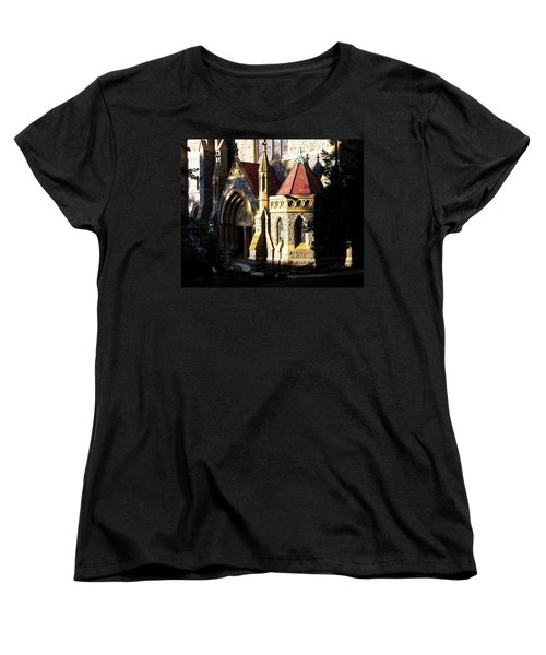 Women's T-Shirt (Standard Cut) featuring the photograph Lehigh University Packer Memorial Chapel Baptistry by Jacqueline M Lewis