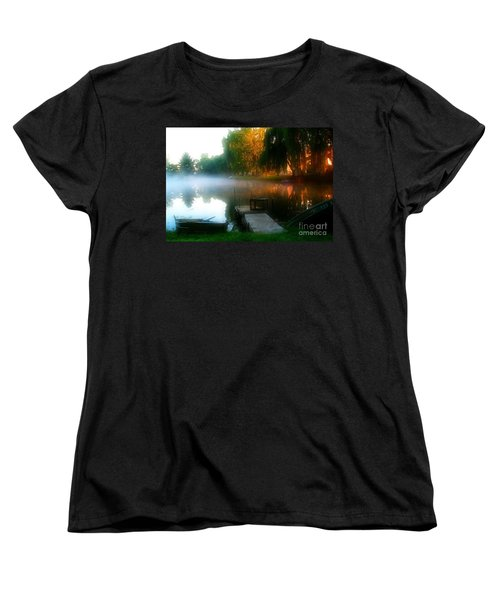Leidy Lake Campground Women's T-Shirt (Standard Cut)