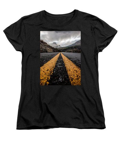 Less Traveled Women's T-Shirt (Standard Cut) by Aaron Aldrich
