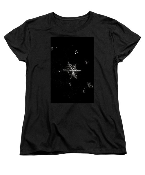 Let It Snow Women's T-Shirt (Standard Cut) by Sara Frank