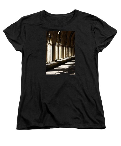 Women's T-Shirt (Standard Cut) featuring the photograph Let The Sun Shine Through by Wendy Wilton