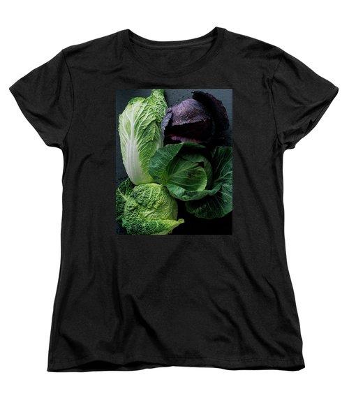 Lettuce Women's T-Shirt (Standard Cut) by Romulo Yanes