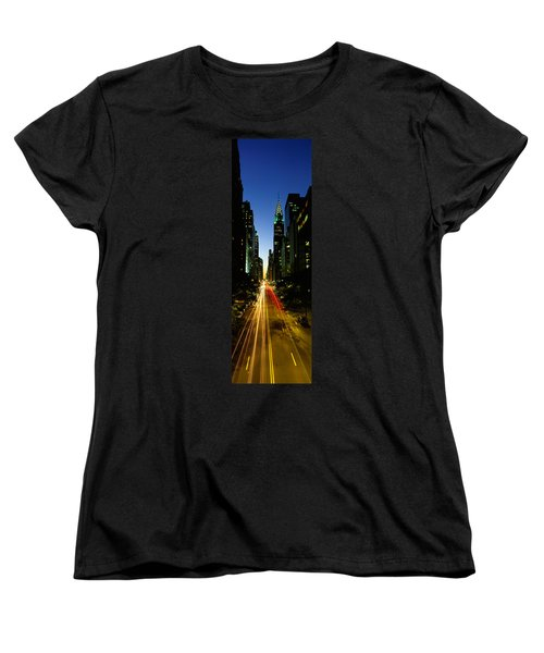 Lexington Avenue, Cityscape, Nyc, New Women's T-Shirt (Standard Cut) by Panoramic Images