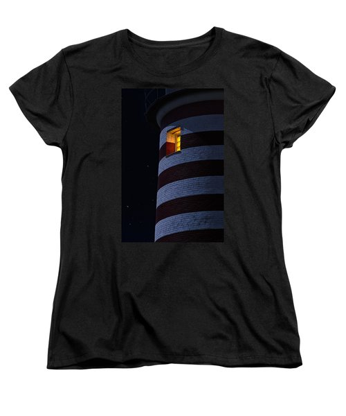 Women's T-Shirt (Standard Cut) featuring the photograph Light From Within by Marty Saccone