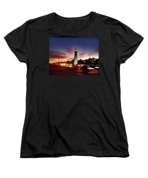 Light House Women's T-Shirt (Standard Cut) by Janice Spivey