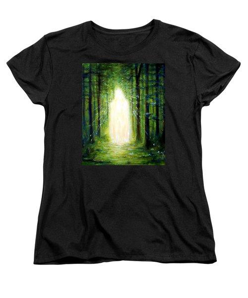 Light In The Garden Women's T-Shirt (Standard Cut)