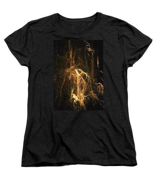 Light Roots Women's T-Shirt (Standard Cut) by Evelyn Tambour