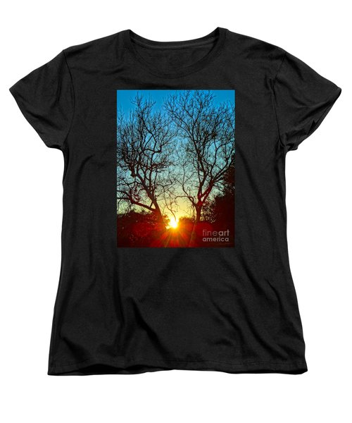 Light Sanctuary Women's T-Shirt (Standard Cut) by Gem S Visionary