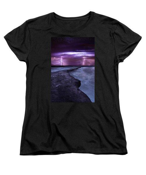 Light Symphony Women's T-Shirt (Standard Cut) by Jorge Maia