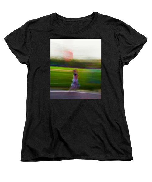 Women's T-Shirt (Standard Cut) featuring the photograph Lighter Than Air by Alex Lapidus
