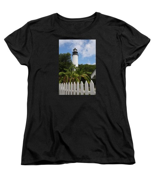 A Sailoirs Guide On The Florida Keys Women's T-Shirt (Standard Cut) by Christiane Schulze Art And Photography