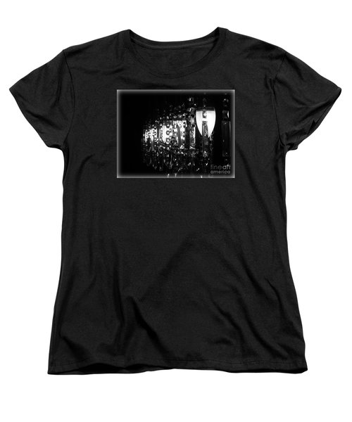 Women's T-Shirt (Standard Cut) featuring the photograph Lightwork by Clare Bevan